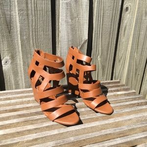 BCBGeneration strappy wedges